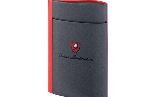 Szivaröngyújtó Lamborghini Levanto - szürke/piros