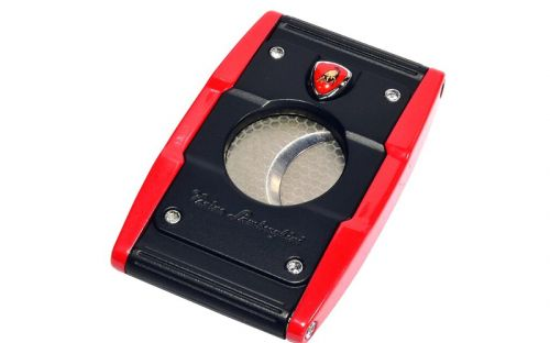 Szivarvágó Lamborghini Precisione - piros/fekete