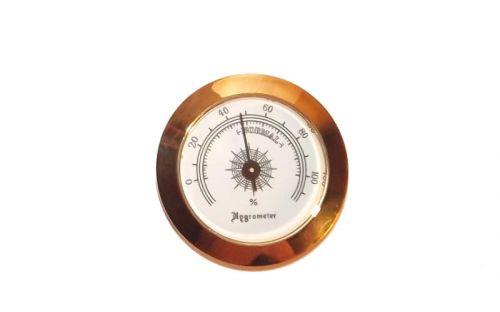 Medici Humidor 40 szál szivar részére, cédrusfa szivardoboz üvegtetővel, párásítóval - fekete + AJÁNDÉK hygrométer