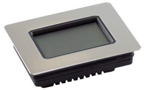 Szivar tartó dobozba digitális thermo-hygrométer - páratartalom és hőmérséklet mérő - téglalap (6x4,5cm)