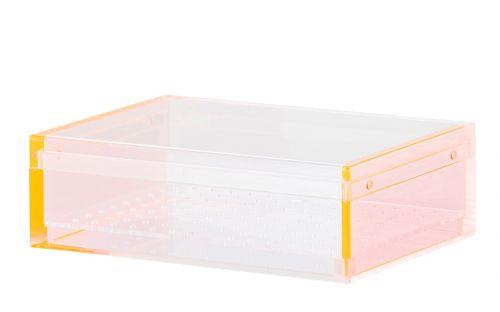 Humidor  30 szál szivar részére, akryl szivar tároló doboz