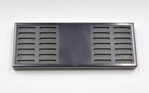 Gasztro humidor 80 szál szivar részére, üveges szivar doboz, cédrusfa, külső hygrométerrel és párásítóval - fekete, Angelo