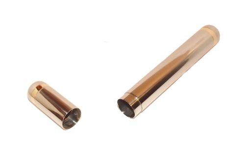 Szivartok - 1 szivar részére, nemesacélból, 21 cm