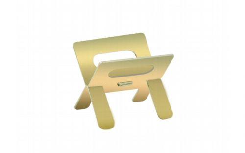 Szivartartó - fém, arany színű