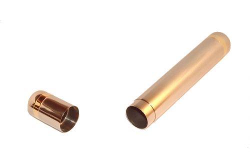 Szivartok - 1 szivar részére, nemesacélból, 18 cm