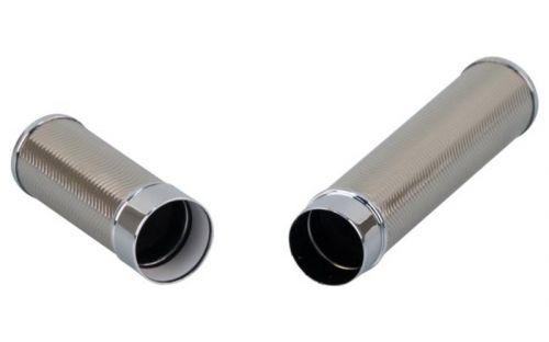 Szivartok - 1 szivar részére, Passatore króm, 18 x 2,2 cm
