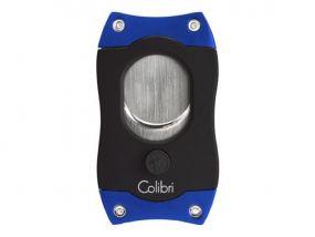 Colibri S-Cut Szivarvágó - fekete/kék (26mm)