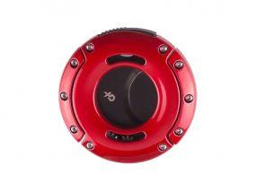 Xikar szivarvágó XO - kerek, piros